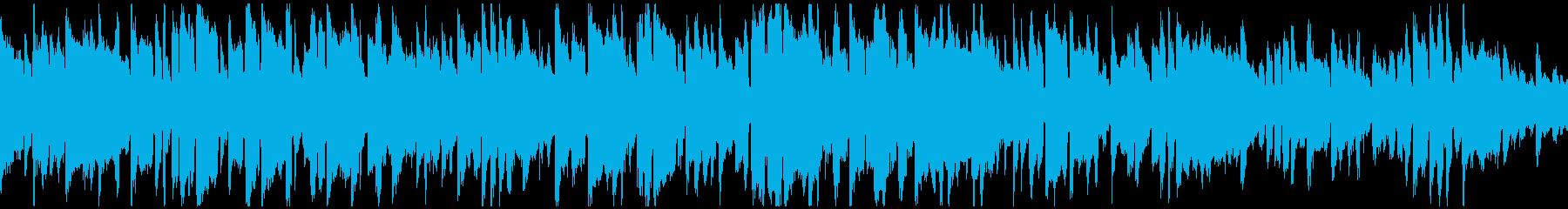 メランコリックでアンニュイな曲※ループ版の再生済みの波形