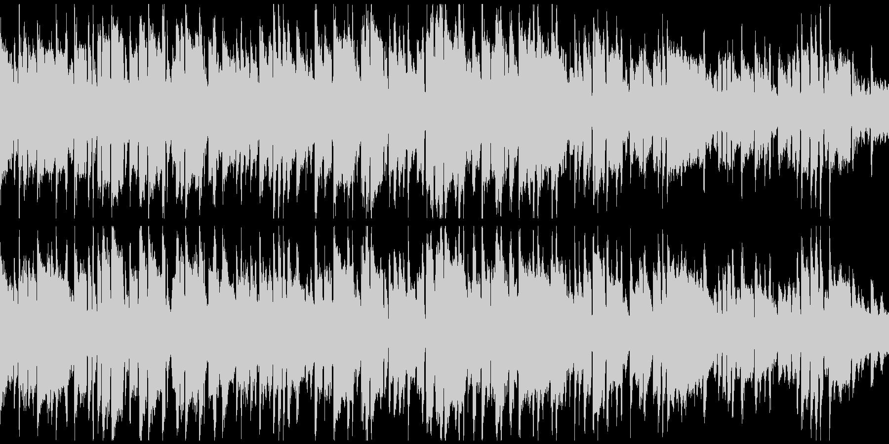 メランコリックでアンニュイな曲※ループ版の未再生の波形