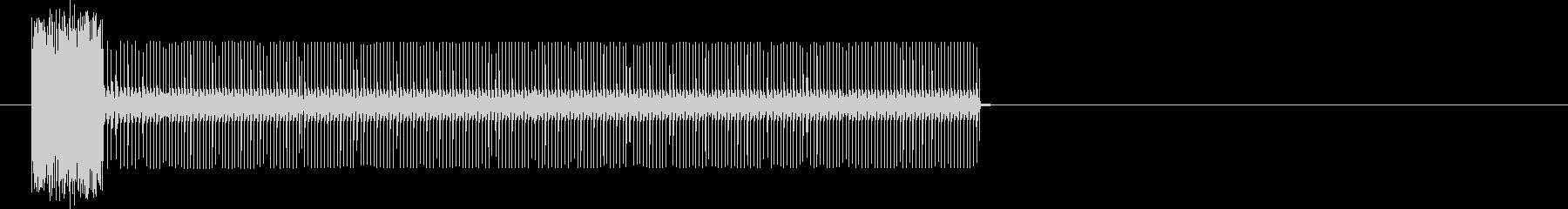 電話とトーンの未再生の波形