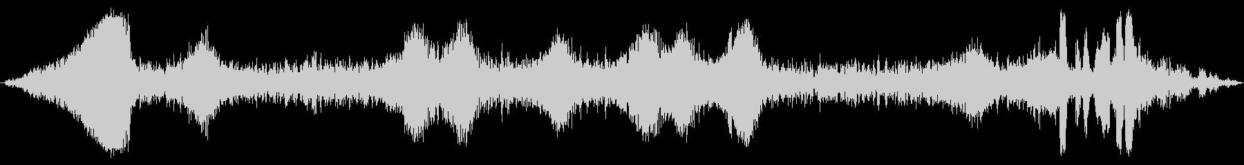 プエブロ0〜50のキャリッジパスの未再生の波形