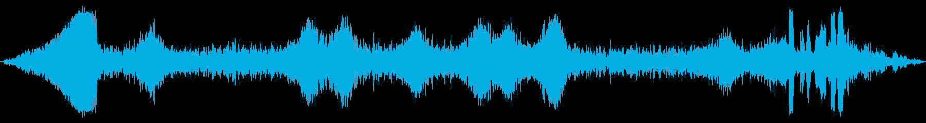 プエブロ0〜50のキャリッジパスの再生済みの波形