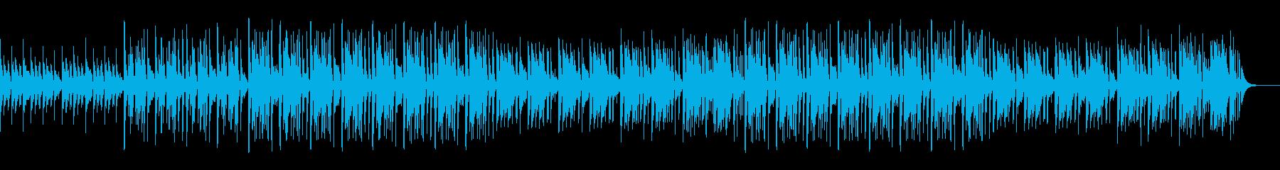ソウルフルなピアノのおしゃれヒップホップの再生済みの波形