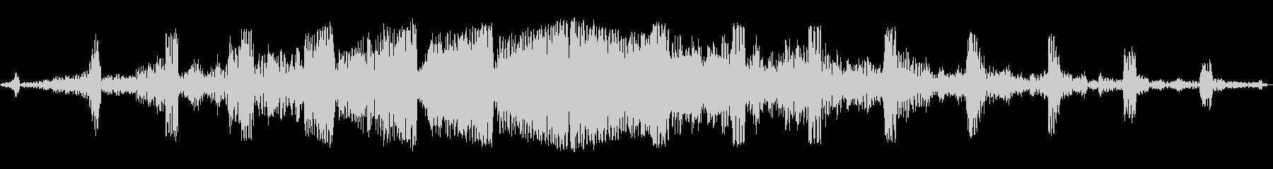 グワングワン(謎の飛行生物)の未再生の波形