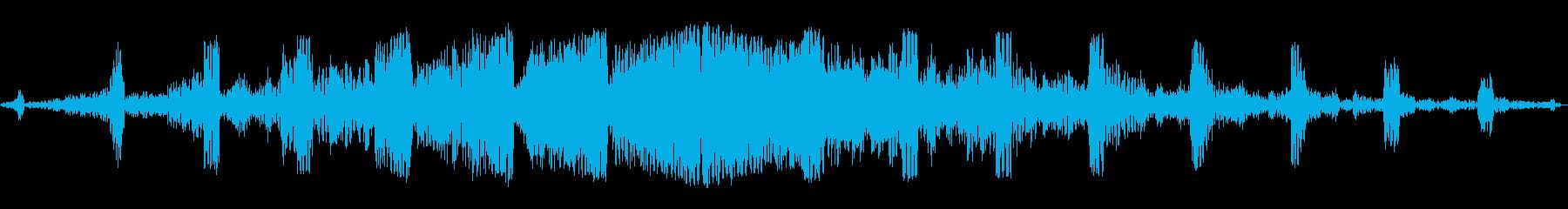 グワングワン(謎の飛行生物)の再生済みの波形