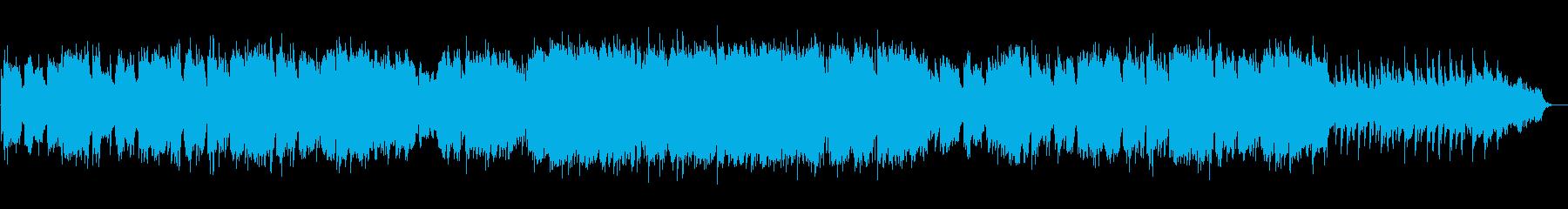 【篠笛生演奏】美しく感動的な和風バラードの再生済みの波形
