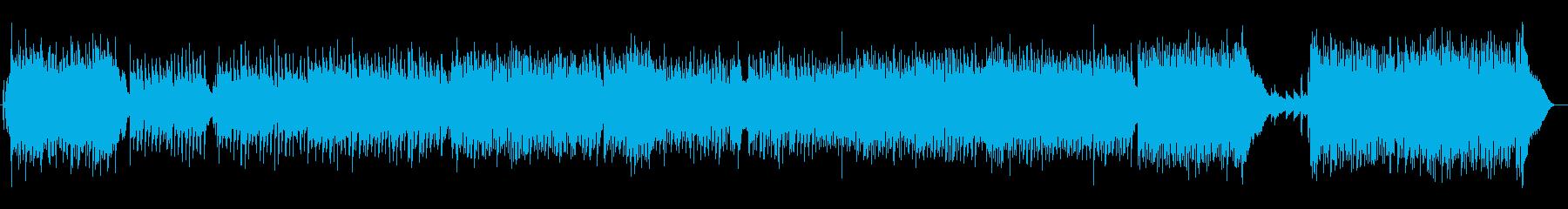 生演奏・爽やか_軽快カントリー調ポップスの再生済みの波形