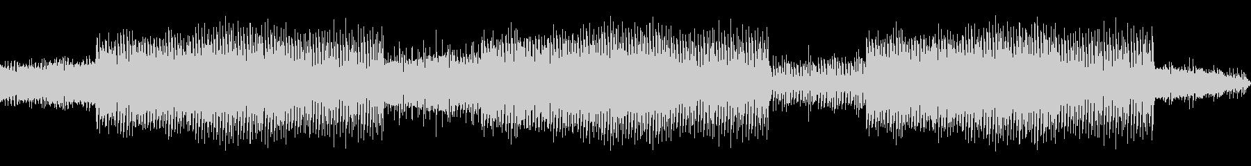 プログレッシブハウス。ポップな背景...の未再生の波形