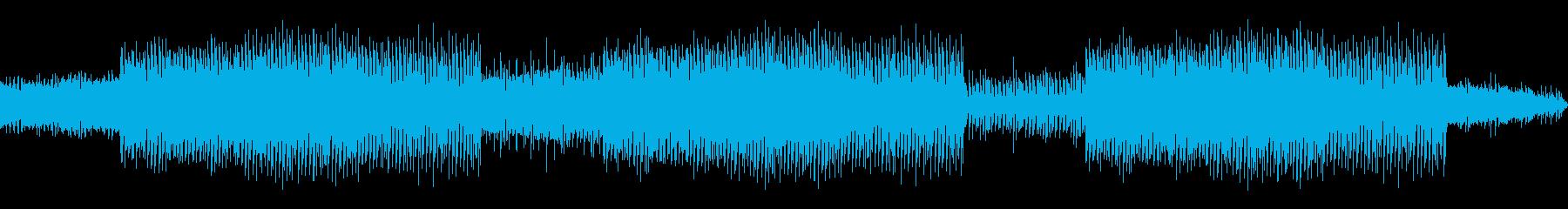 プログレッシブハウス。ポップな背景...の再生済みの波形