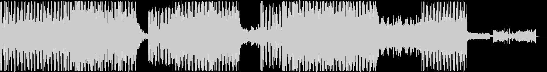 ダークでクールなBGMの未再生の波形