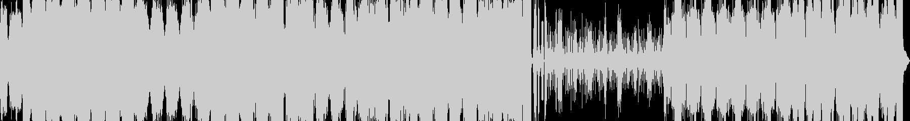 ガバキックを多用した曲です。戦闘BGM…の未再生の波形