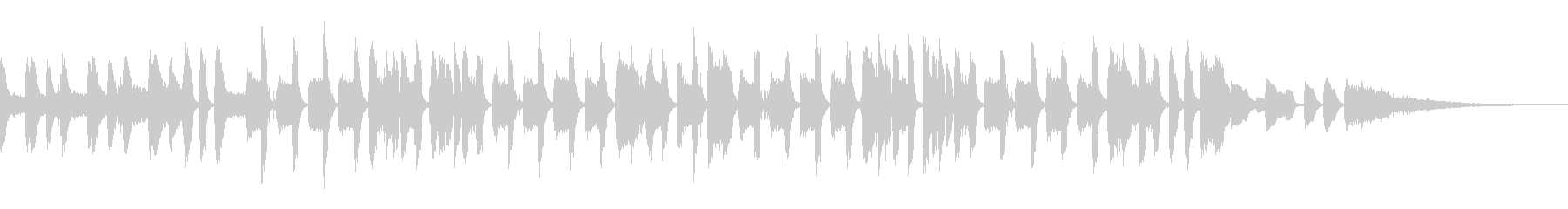 ピタゴラっぽい可愛いリコーダーのCM曲の未再生の波形