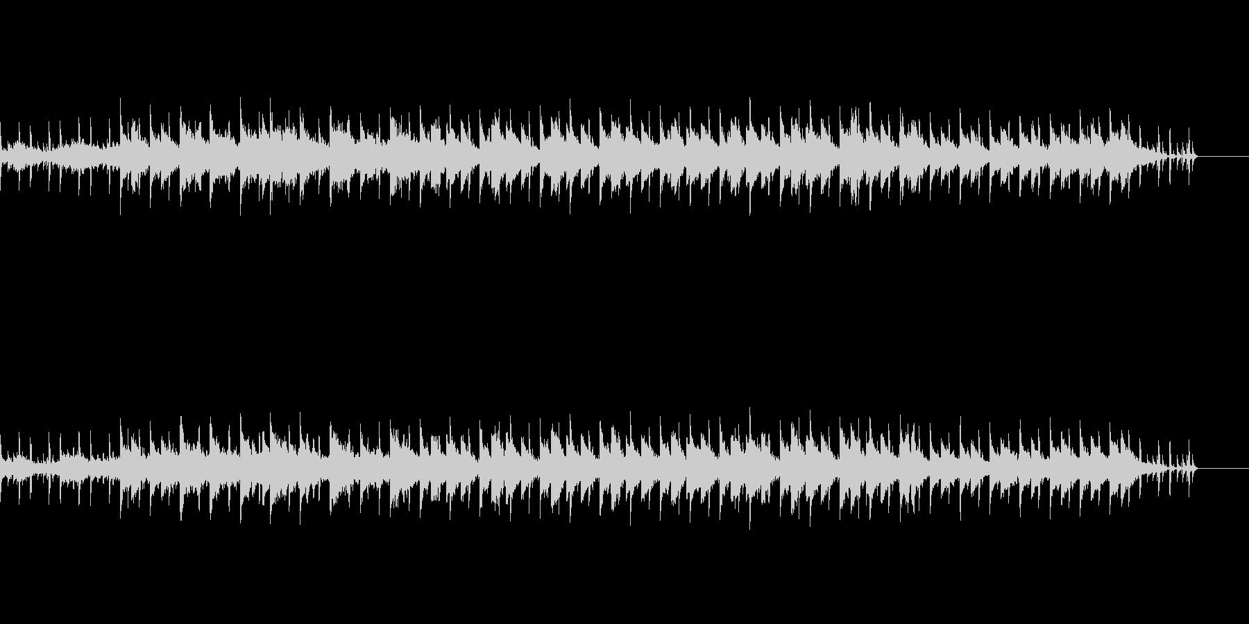 怪しげなシンセサウンドの未再生の波形