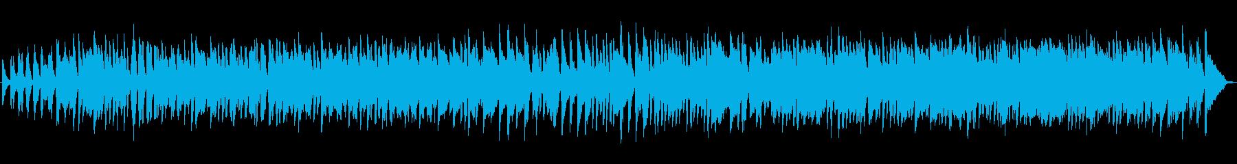 ピアノ、サイレントムービー、インプ...の再生済みの波形