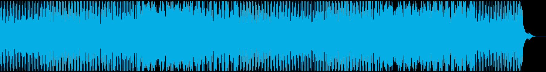 爽やかワクワク生音系EDM企業PVの再生済みの波形
