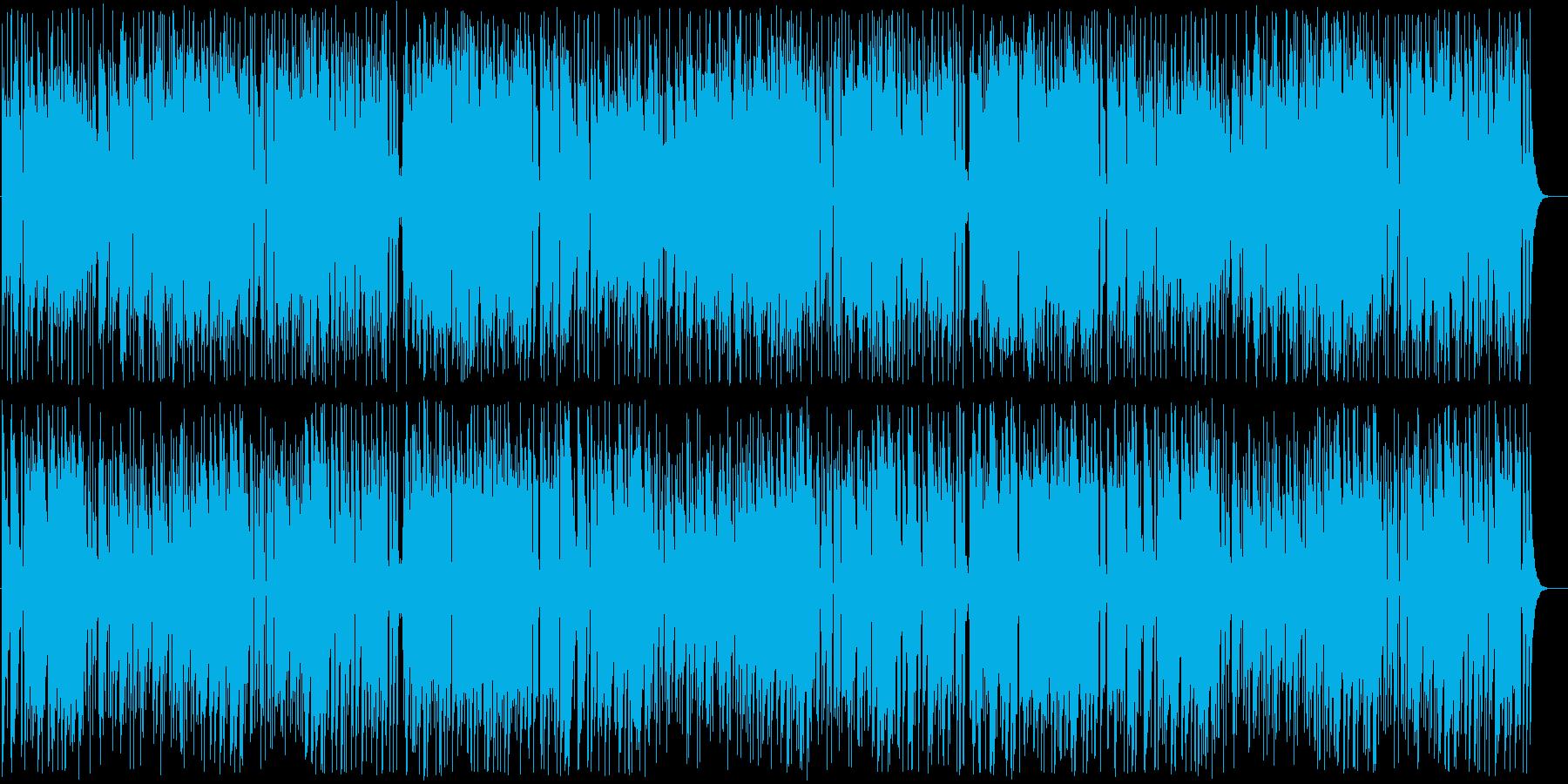 スタイリッシュで大人な雰囲気の音楽の再生済みの波形