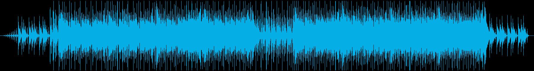 クリスマスの夜をイメージした曲の再生済みの波形