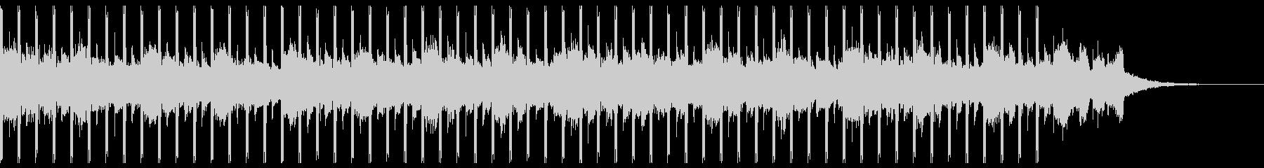 マーケティング(30秒)の未再生の波形