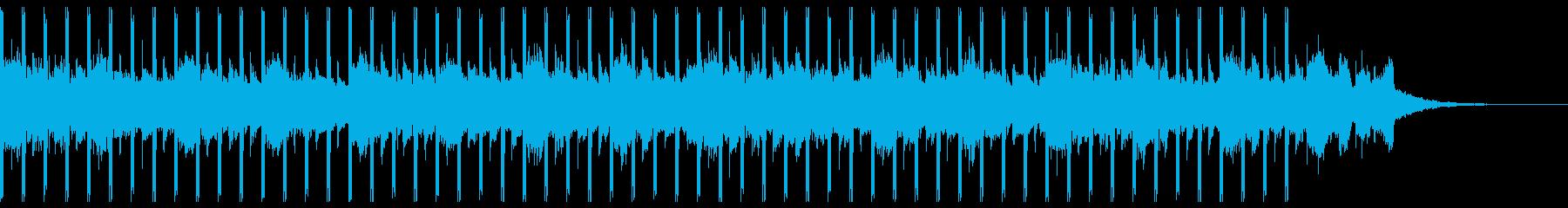 マーケティング(30秒)の再生済みの波形