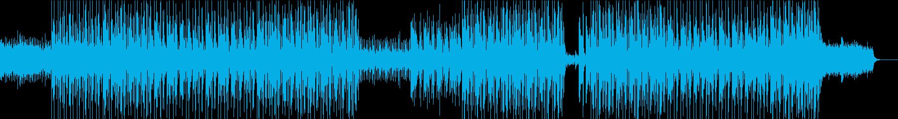 ポップなレゲエクリスマスBGMの再生済みの波形