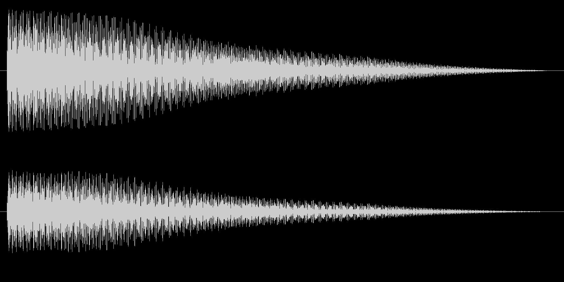 タゥンーの未再生の波形