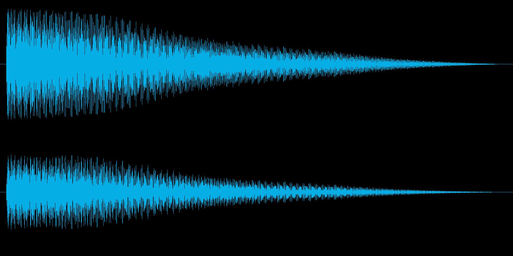 タゥンーの再生済みの波形