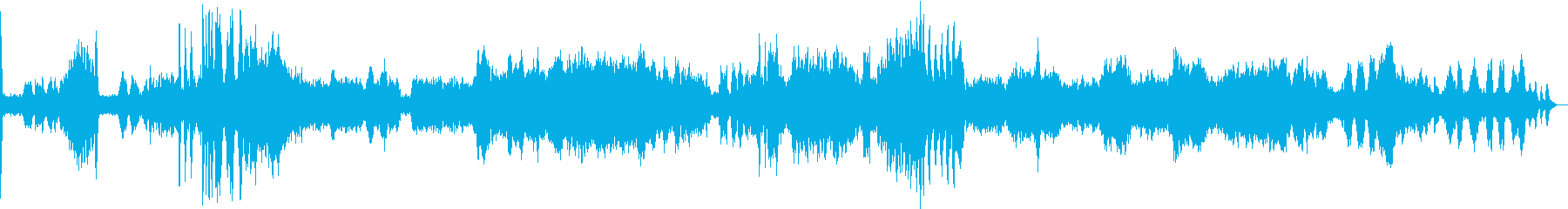 スメタナ 「わが生涯より」 第1楽章の再生済みの波形