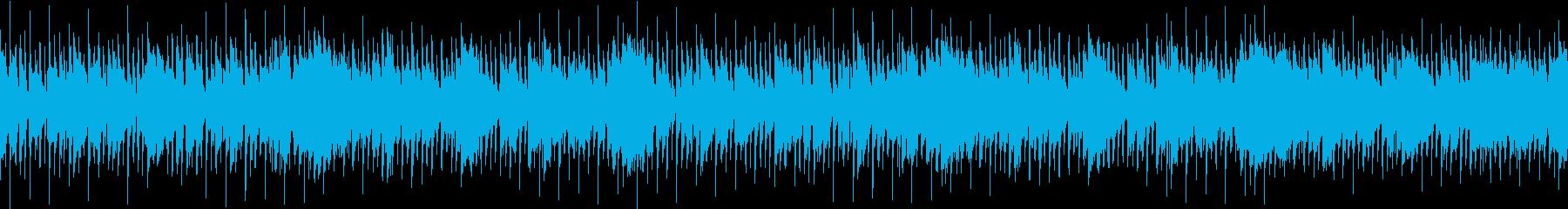 おしゃれでゆったりした企業VP用のジャズの再生済みの波形