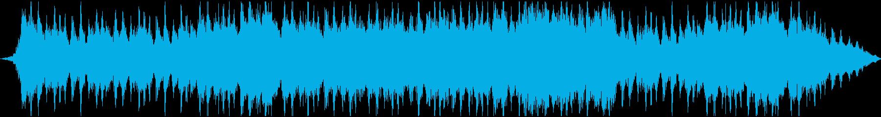 戦闘をイメージしたオーケストラの再生済みの波形