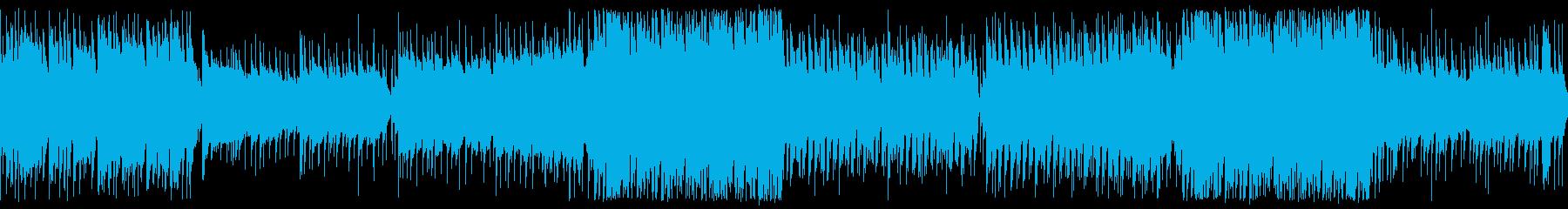 【ループ版】和風EDM・お祭りの…の再生済みの波形