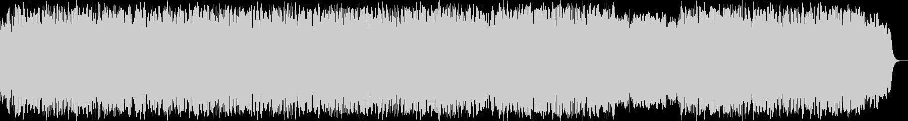 ほのぼの明るく前向きな笛のヒーリング音楽の未再生の波形