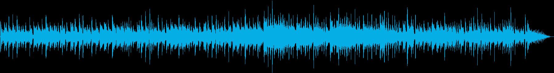 生ギター ハイキング・ピクニック 明るいの再生済みの波形