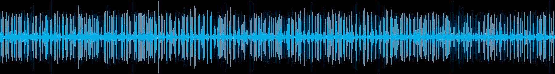 Audience applause crackling loop's reproduced waveform