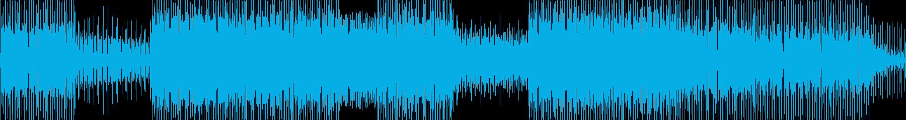 躍動感を感じるEDMの再生済みの波形