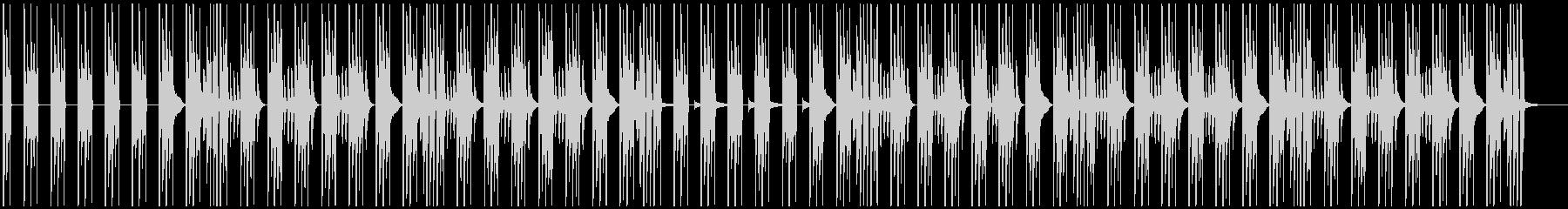 シンプルな日常穏やかBGMの未再生の波形