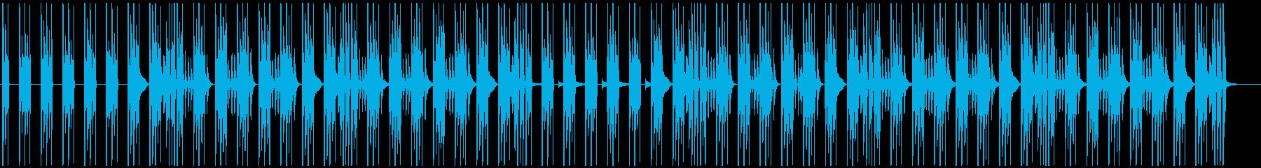 シンプルな日常穏やかBGMの再生済みの波形