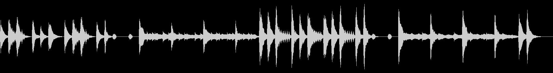 コミカル2/ハロウィン風、バラエティーの未再生の波形