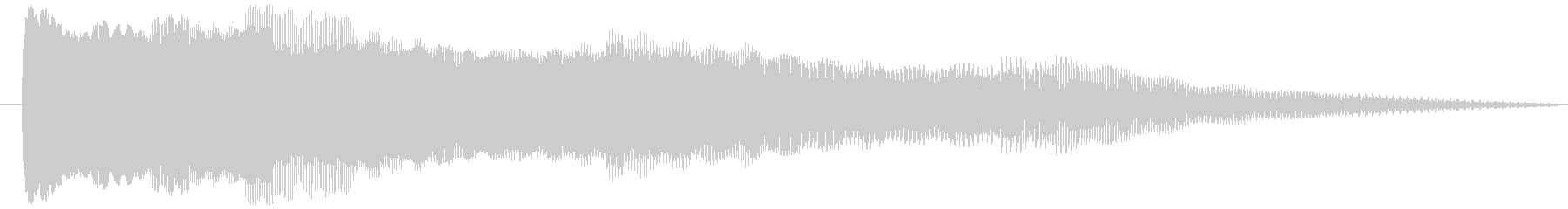 OLDPOWERバージョン2の未再生の波形