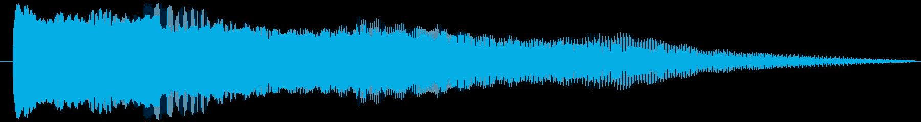 OLDPOWERバージョン2の再生済みの波形