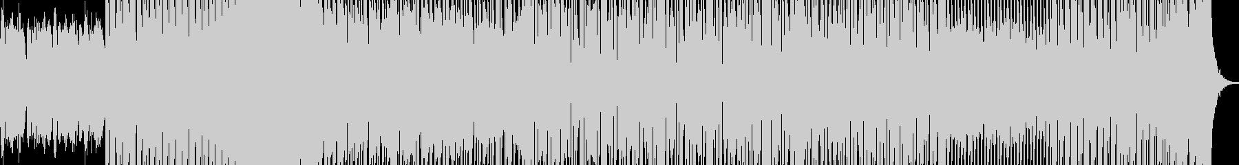 勢いのあるドラムンベースの未再生の波形