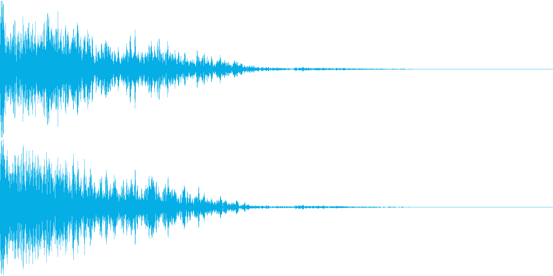 恐竜 怪獣 吠える 衝撃 ホラー 12の再生済みの波形
