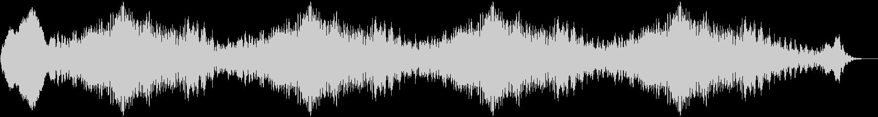 ホラー06の未再生の波形