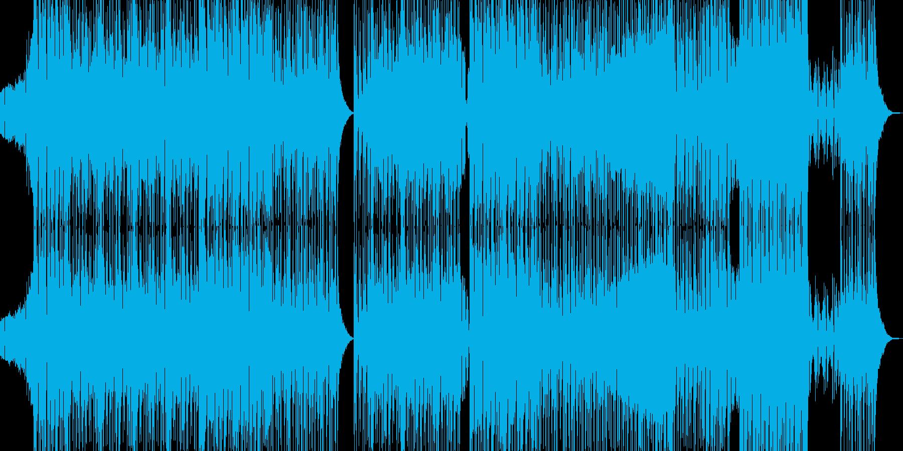不穏で邪悪なヒップホップ 長尺の再生済みの波形