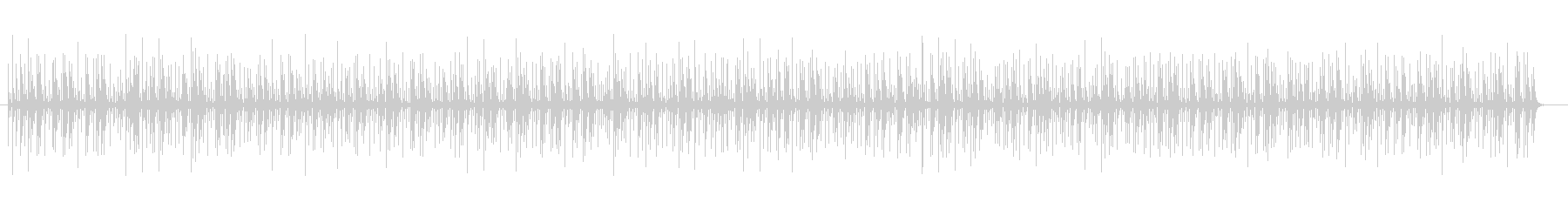 コンガのリズムBGM テンポ100ですの未再生の波形