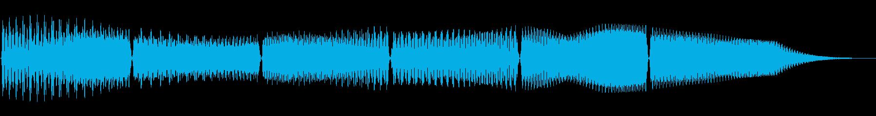 スワイプやゲームの操作時用のコミカルな音の再生済みの波形
