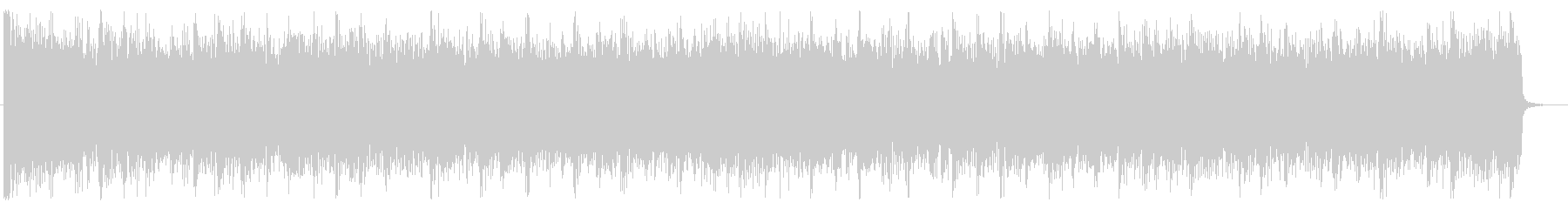 重厚/シンプル/ロック_No600_4の未再生の波形