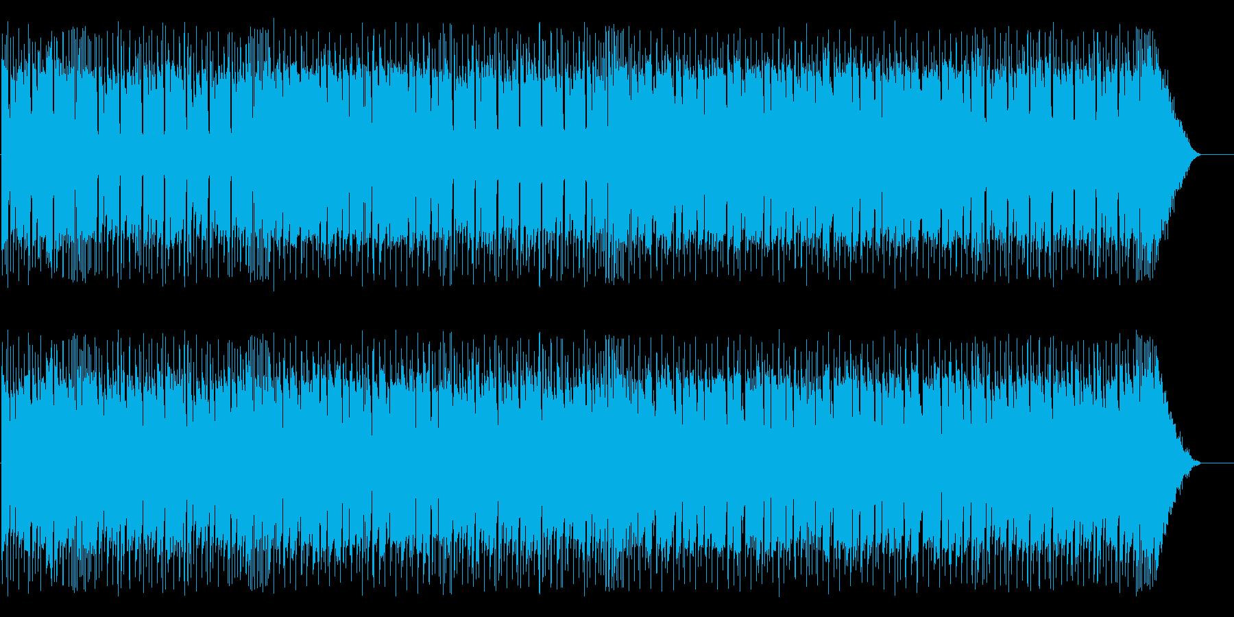 爽やかで癒されるメロディーの再生済みの波形