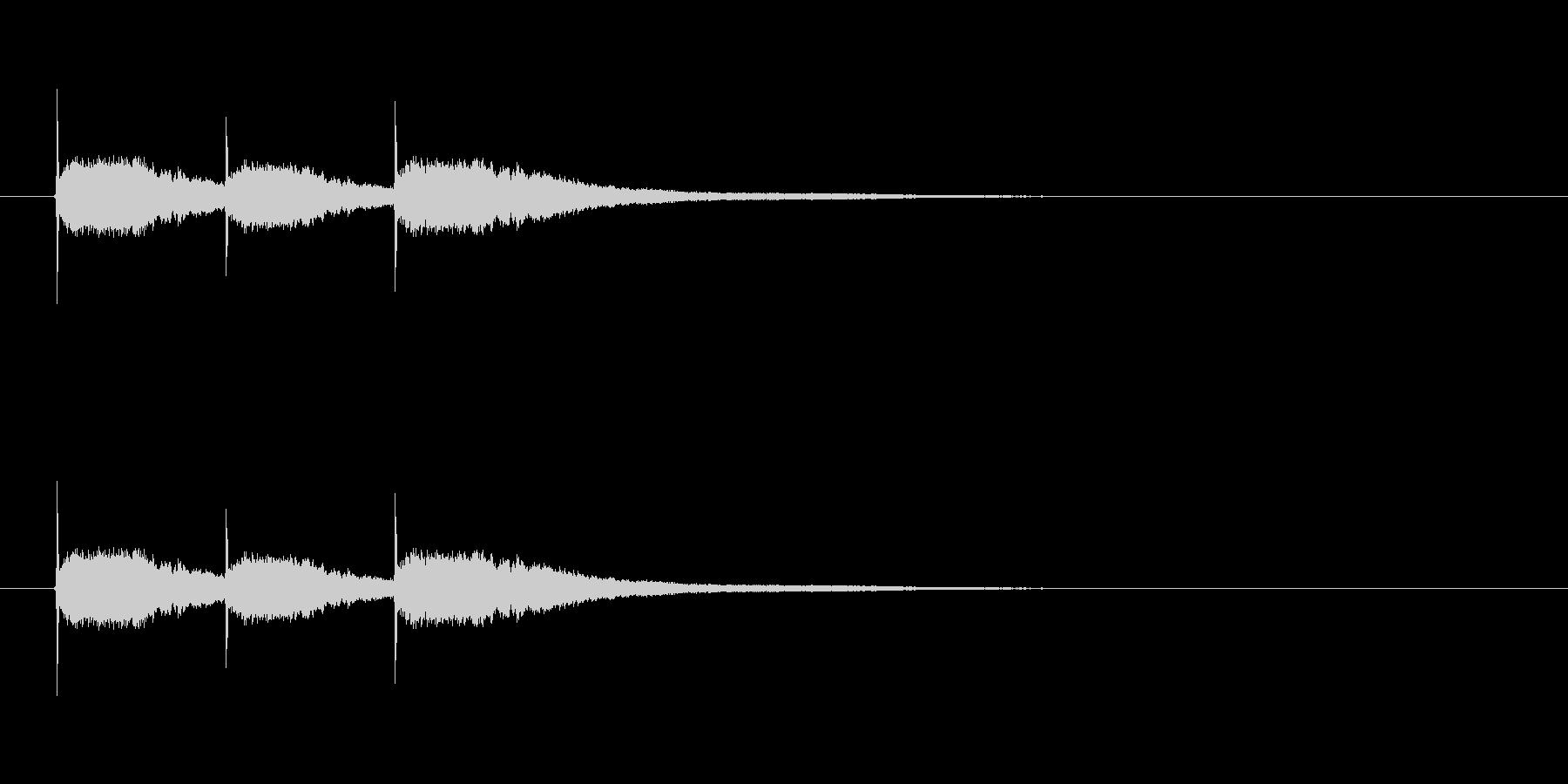 【競技用ゴング01-3】の未再生の波形