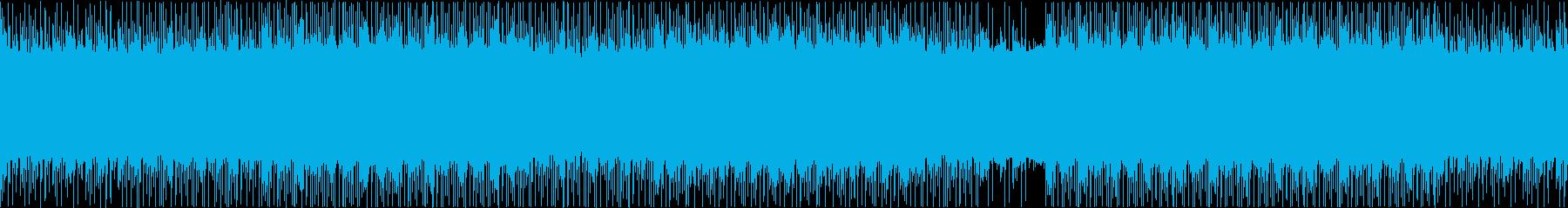 エスニック調で怪しく不気味なスロービートの再生済みの波形