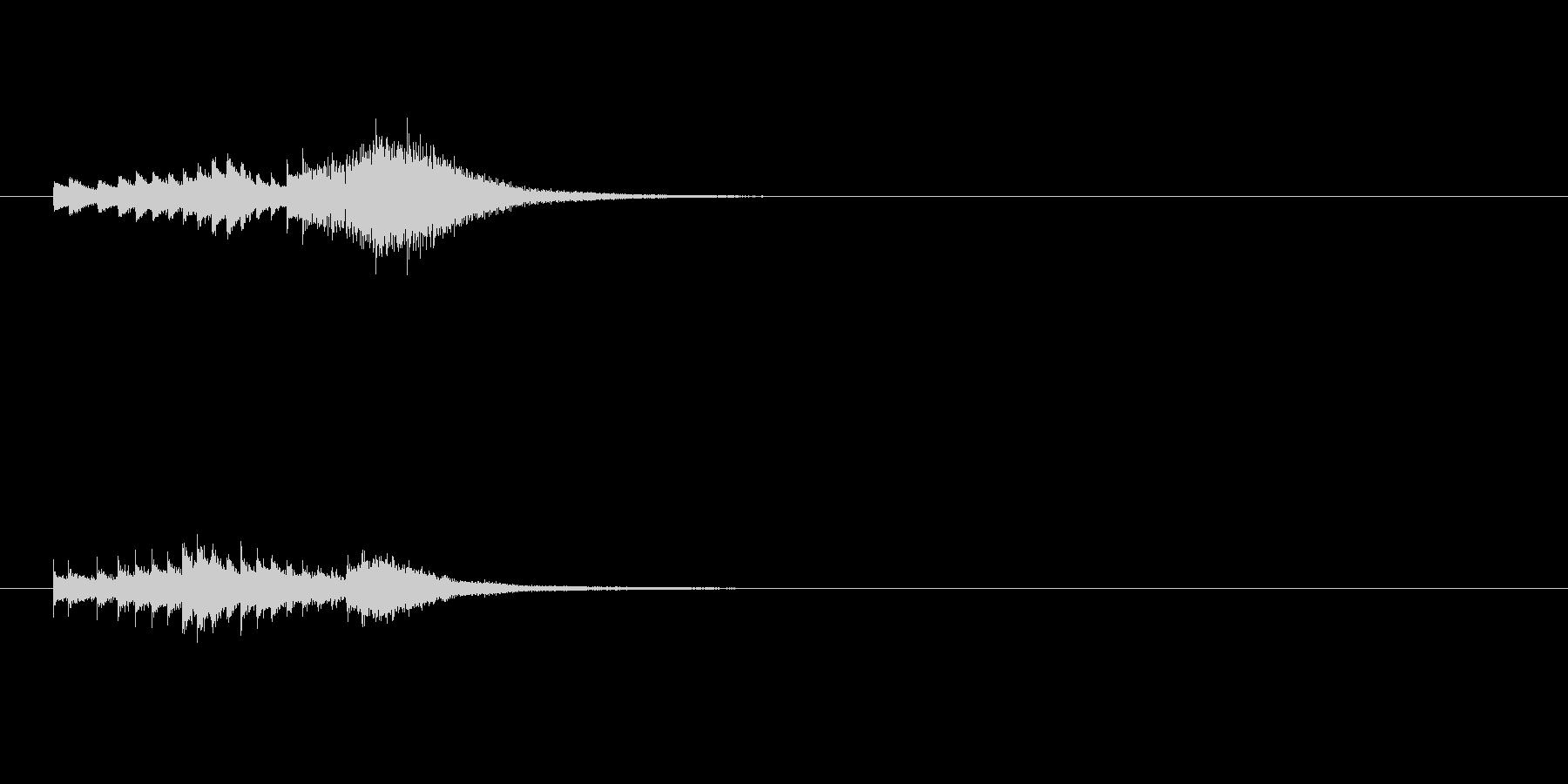 正解ベルグリスの未再生の波形