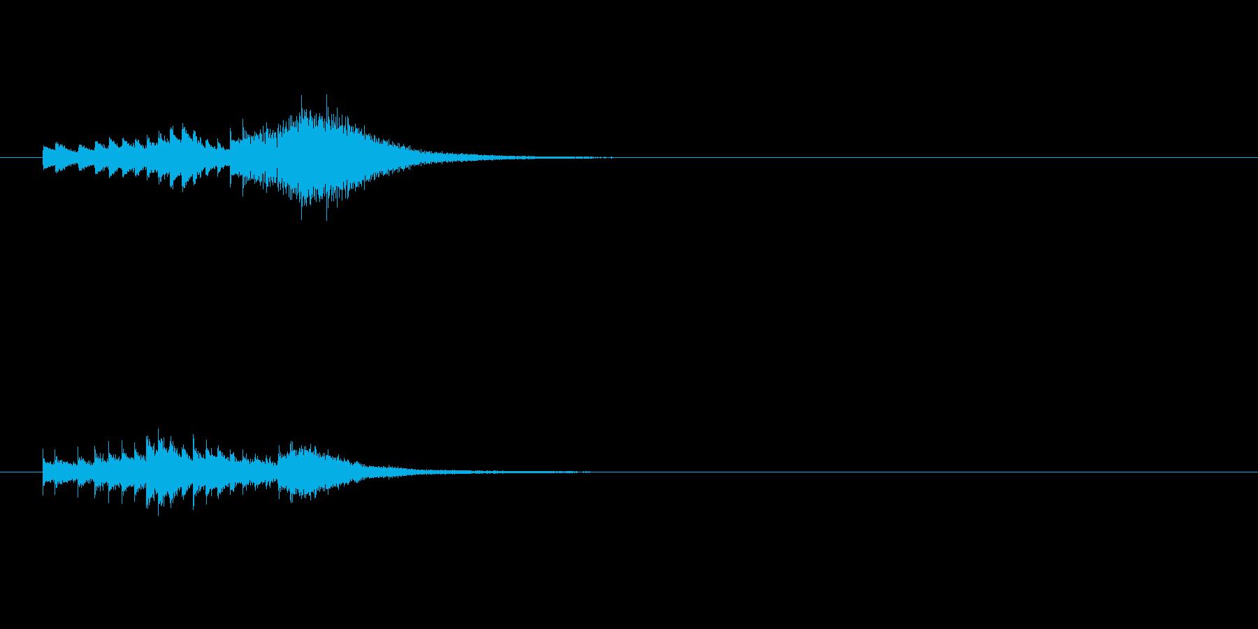 正解ベルグリスの再生済みの波形